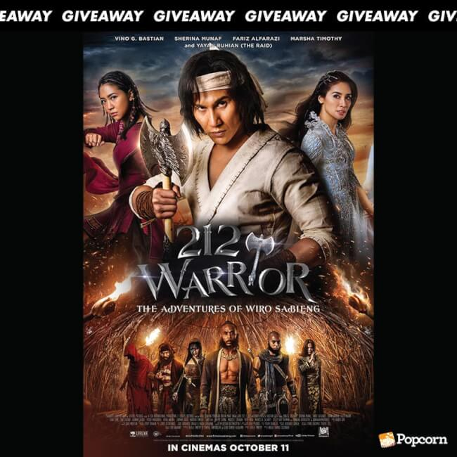 [CLOSED] Win Preview Tickets To '212 Warrior: The Adventures Of Wiro Sableng'