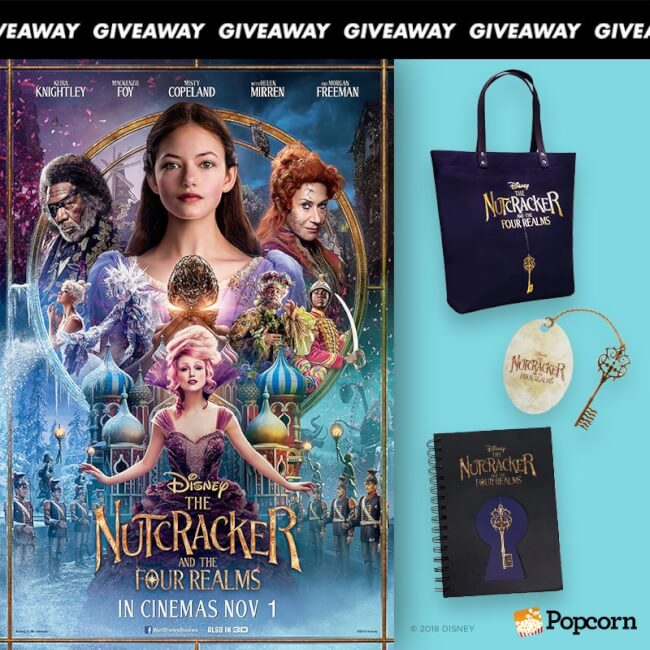 Win Limited Edition Premiums To Disney's 'The Nutcracker And The Four Realms'