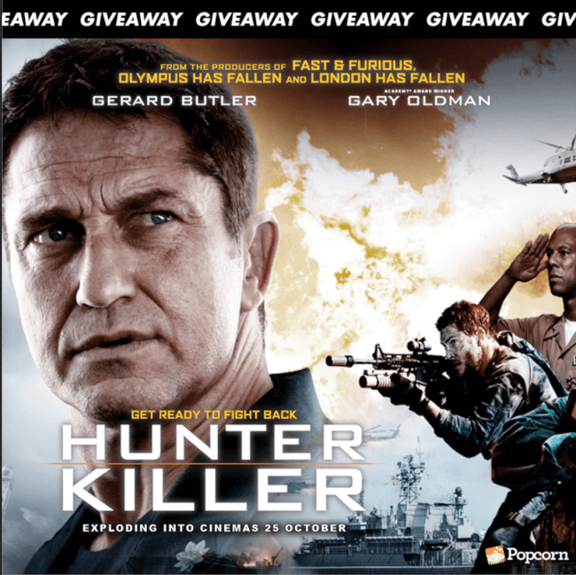 Win Preview Tickets To Explosive Action Blockbuster 'Hunter Killer'