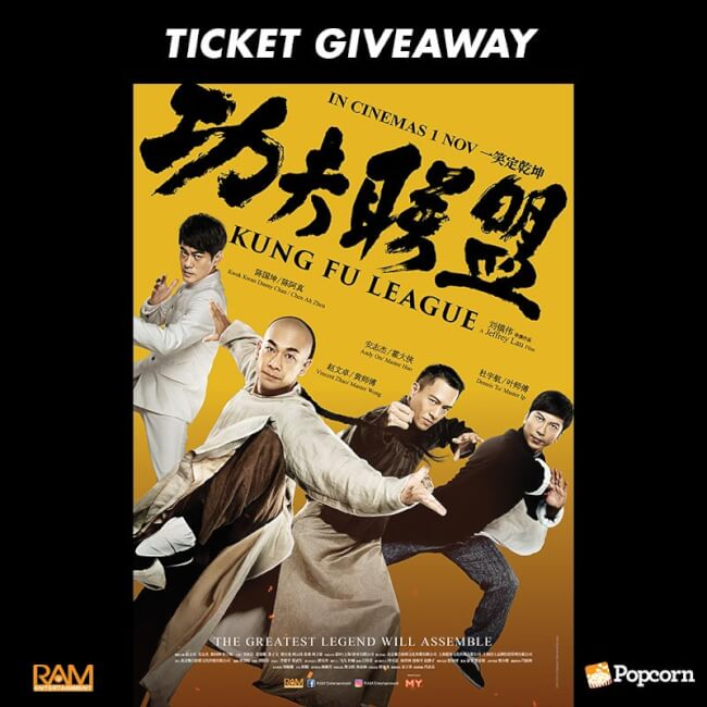 Win A Pair Of Premiere Tickets To Chinese Action Comedy 'Kung Fu League'