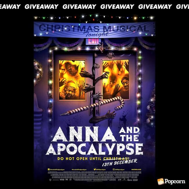 Win Preview Tickets To Zombie Christmas Musical ' Anna and the Apocalypse'