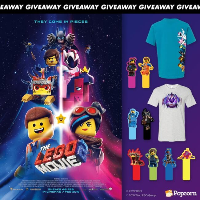 Win Limited Edition Premiums from 'The LEGO Movie 2'