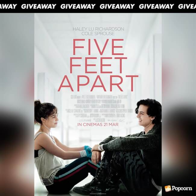 Win Premiere Tickets To Heartbreaking Romance 'Five Feet Apart'