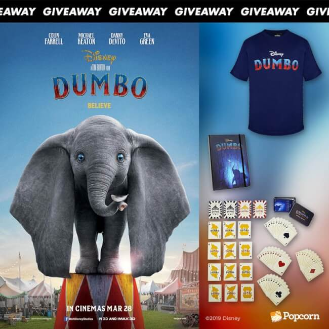 Win Limited Edition Movie Premiums From Disney's Dumbo