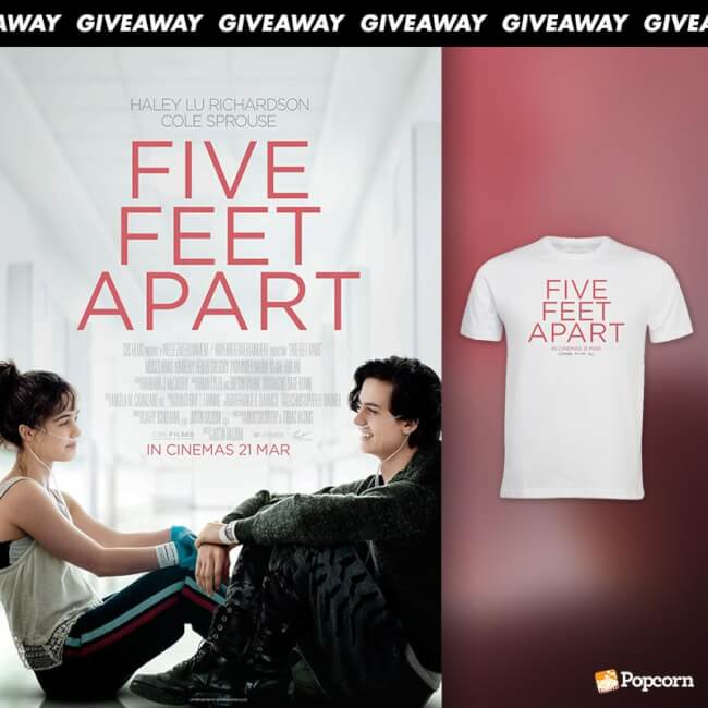 Win A Limited Edition T-Shirt From Romance 'Five Feet Apart'