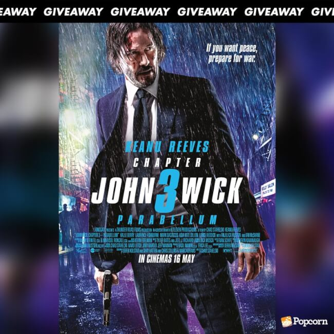 Win Premiere Tickets To John Wick Chapter 3: Parebellum