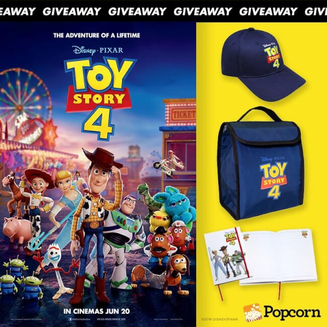 Win Limited Edition 'Disney and Pixar's Toy Story 4' Movie Premiums