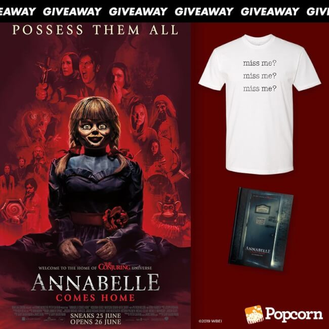 Win Limited Edition 'Annabelle Comes Home' Movie Premiums
