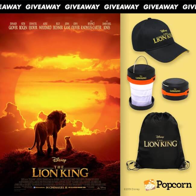 Win Limited Edition Disney's 'The Lion King' Movie Premiums