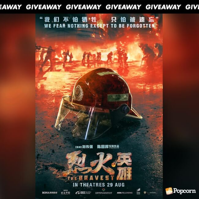 Win Preview Tickets To Mandarin Action Thriller 'The Bravest'
