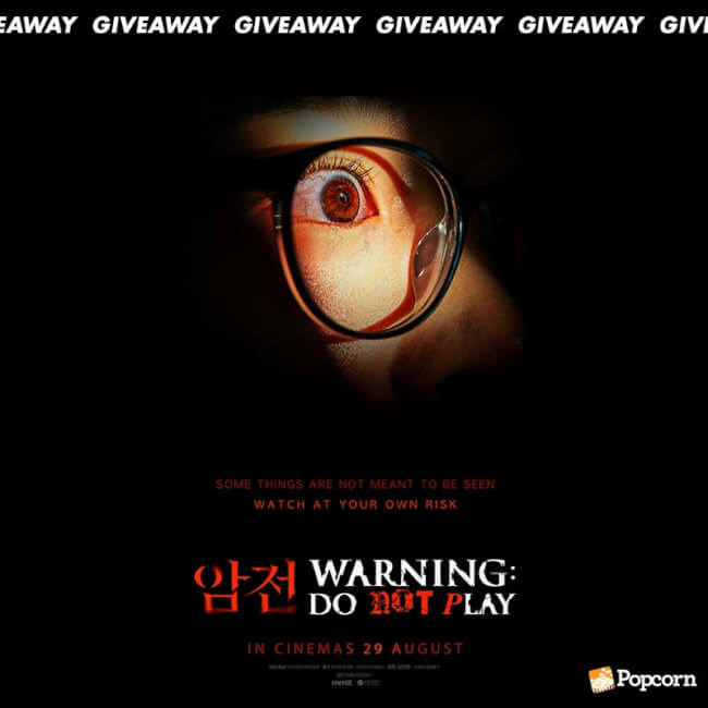 Win Complimentary Passes To Korean Horror 'Warning: Do Not Play'