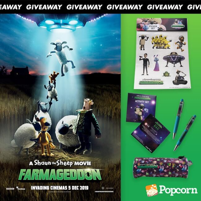 Win Limited Edition 'A Shaun The Sheep Movie: Farmegeddon' Movie Premiums