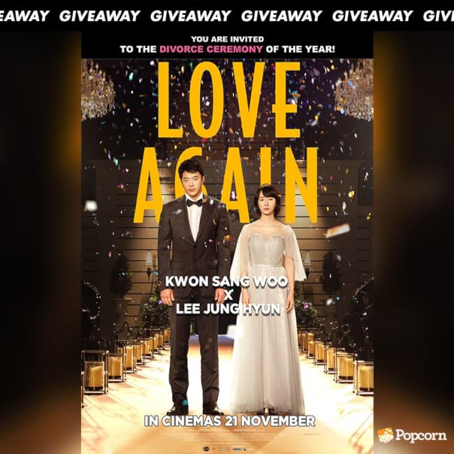 Win Complimentary Passes To Korean RomCom 'Love. Again'