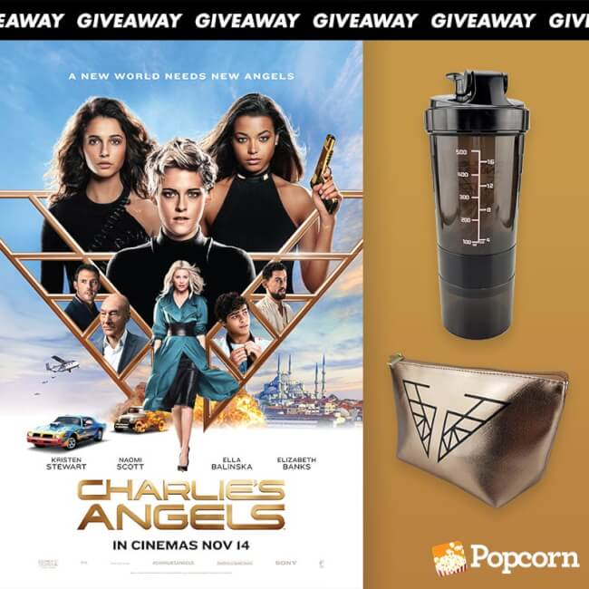 Win Limited Edition 'Charlie's Angels' Movie Premiums