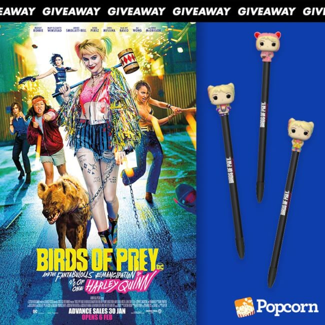 Win Limited Edition Premiums To BIRDS OF PREY (And the Fantabulous Emancipation of One Harley Quinn)