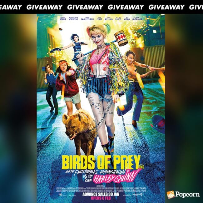 Win Premiere Tickets To BIRDS OF PREY (And the Fantabulous Emancipation of One Harley Quinn)