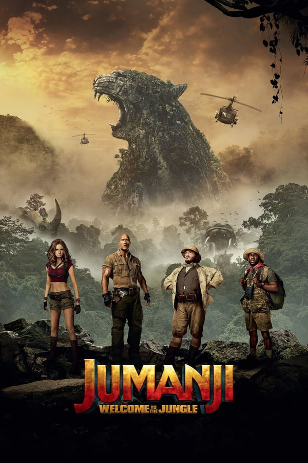 JUMANJI - WELCOME TO THE JUNGLE Movie Poster