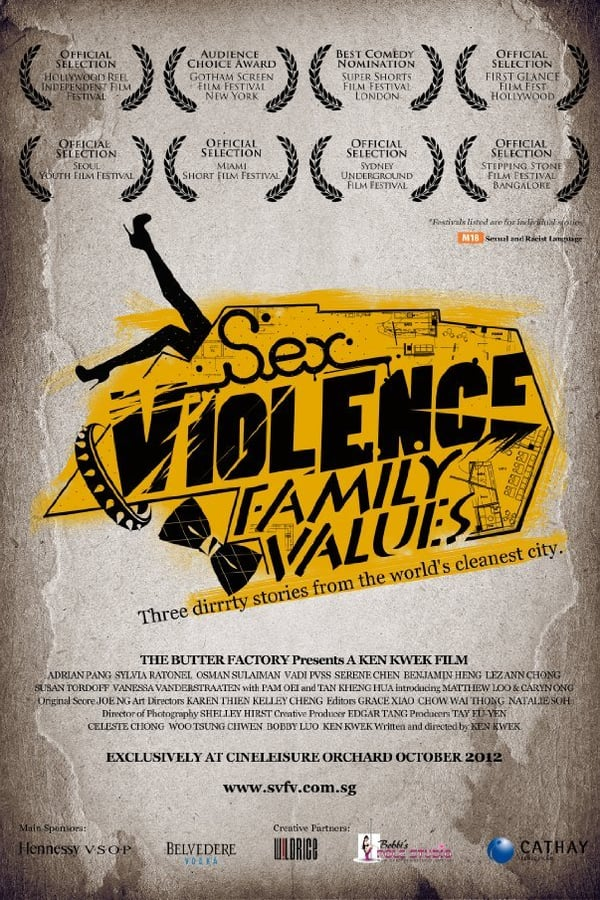 Sex.Violence.FamilyValues. Movie Poster