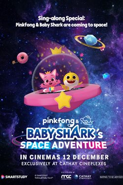 Pinkfong And Baby Shark's Space Adventure Movie Poster
