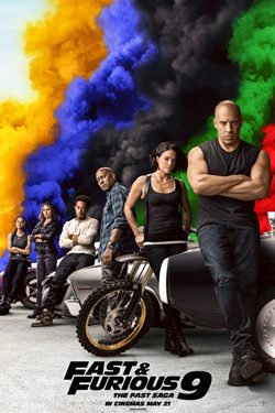 Fast & Furious 9: The Fast Saga Movie Poster