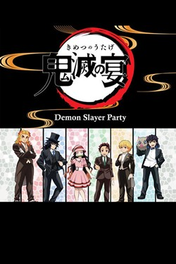 Demon Slayer Party Movie Poster