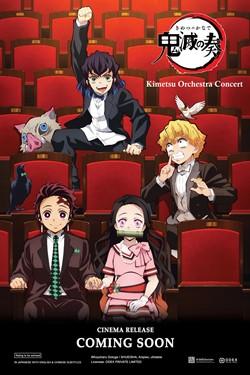 Kimetsu Orchestra Concert Movie Poster