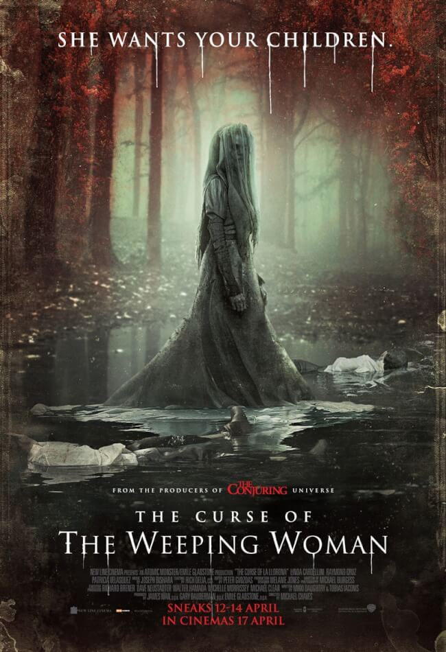The Curse Of The Weeping Woman Movie Poster