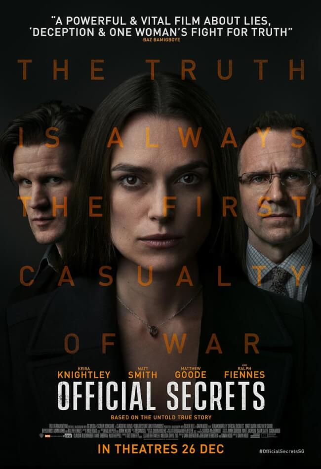 Official Secrets Movie Poster