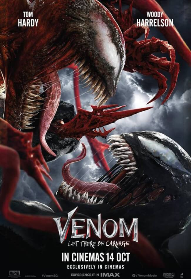 Venom: Let There Be Carnage Movie Poster