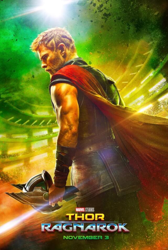 Marvel's Thor: Ragnarok Movie Poster