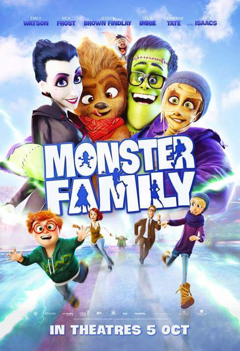 monster family 2017 showtimes movie tickets and reviews