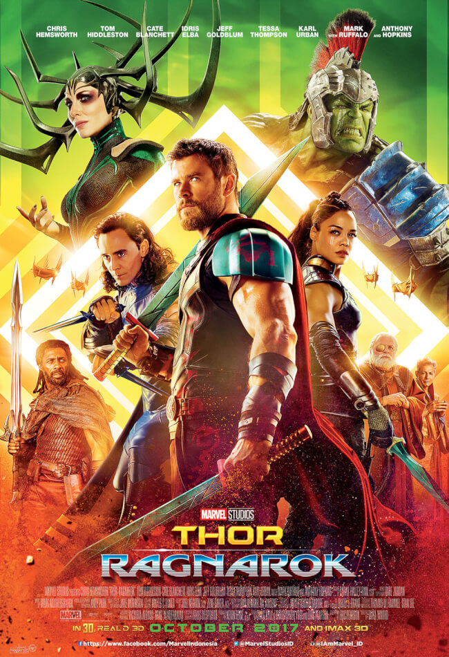 Marvel's Thor: Ragnarok Movie Poster