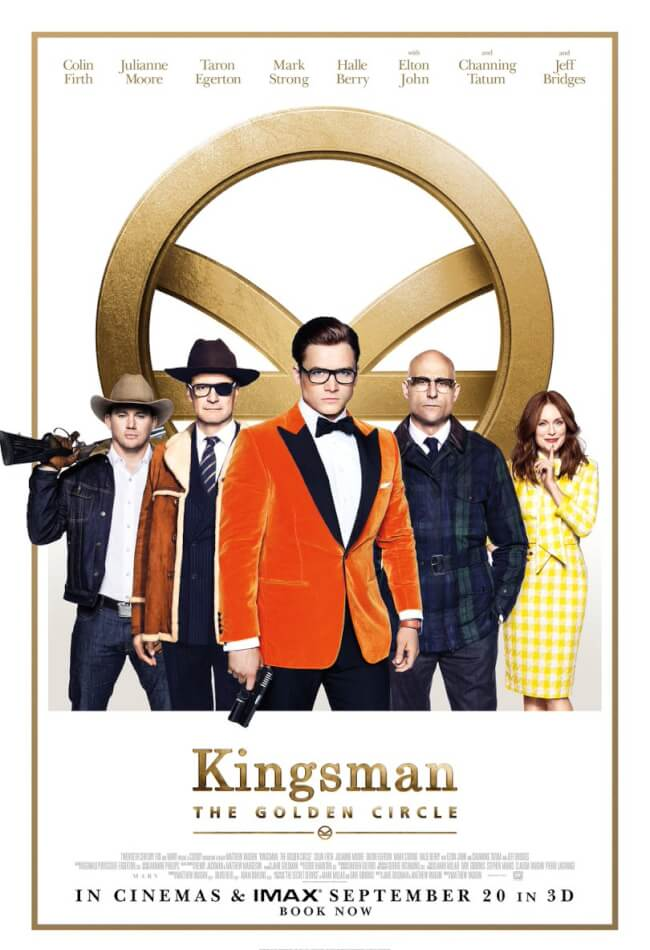 Kingsman: golden circle Movie Poster