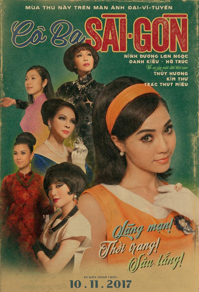 CÔ BA SÀI GÒN Movie Poster