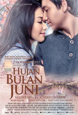 Hujan dibulan juni Movie Poster