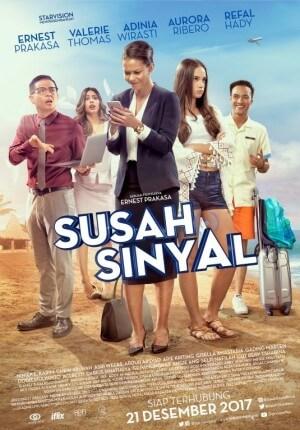 Susah sinyal Movie Poster