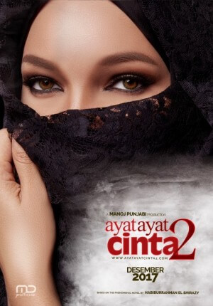 Ayat ayat cinta 2 Movie Poster