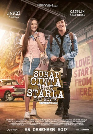 Surat cinta untuk starla the movie Movie Poster
