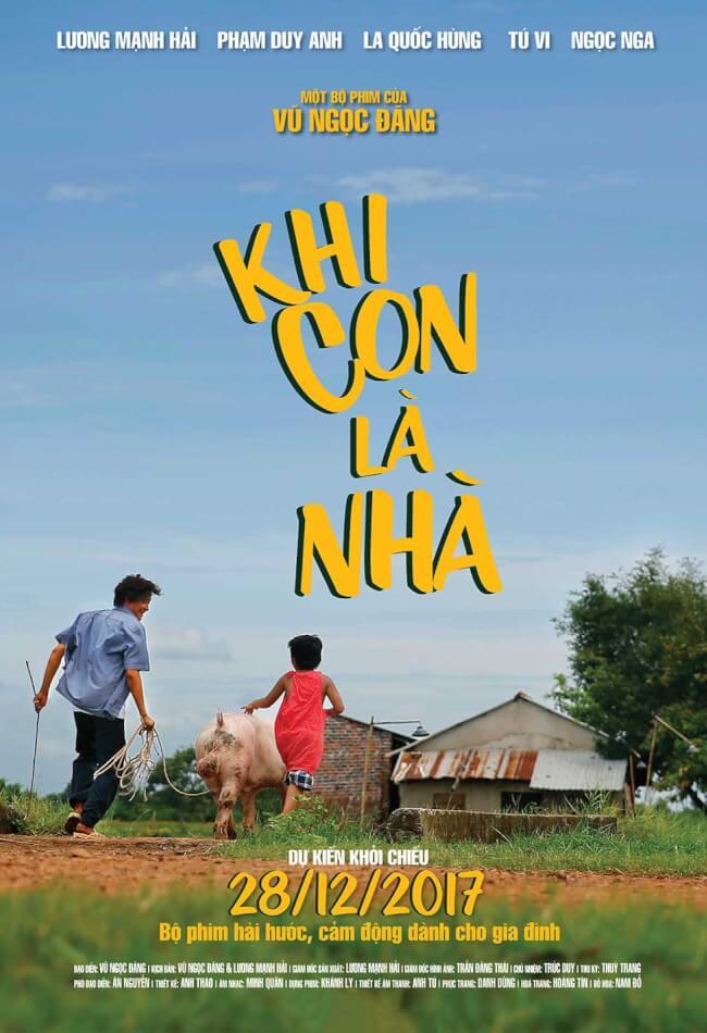 KHI CON LÀ NHÀ Movie Poster