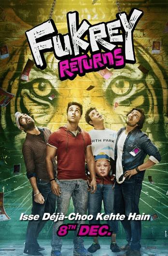 Fukrey Returns Movie Poster