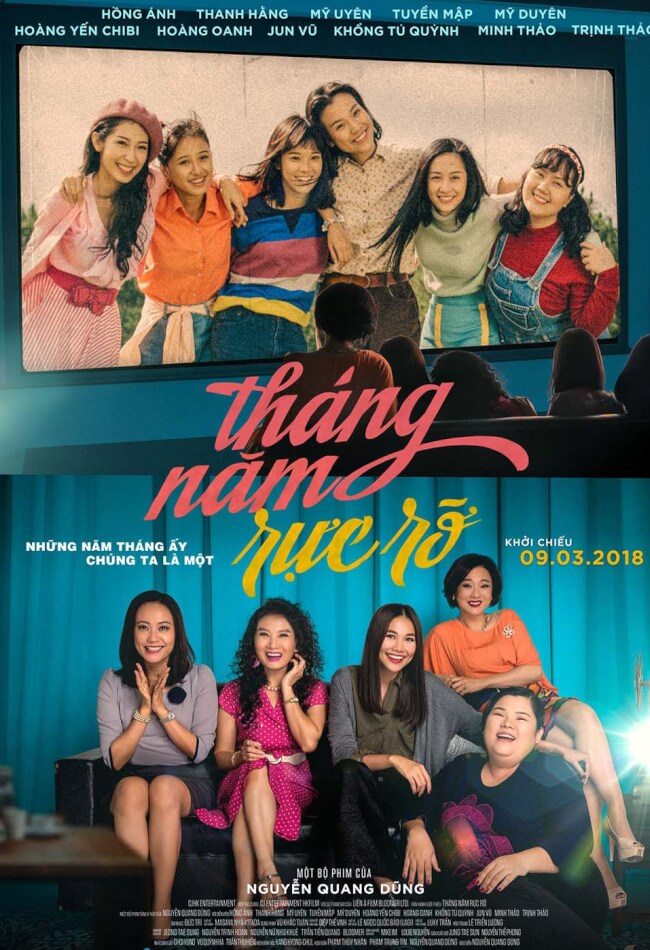 THANG NAM RUC RO Movie Poster
