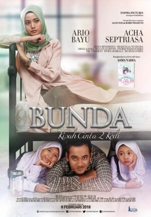 Bunda, kisah cinta 2 kodi Movie Poster