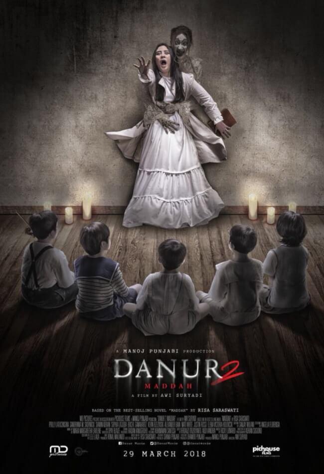 Danur 2: Maddah Movie Poster