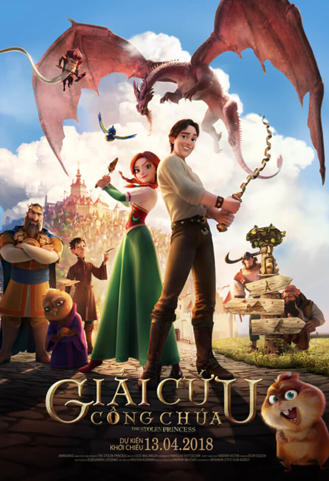 THE STOLEN PRINCESS:RUDLAN AND RUSMILA Movie Poster