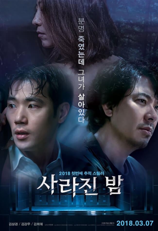 THE VANISHED (사라진 밤) Movie Poster