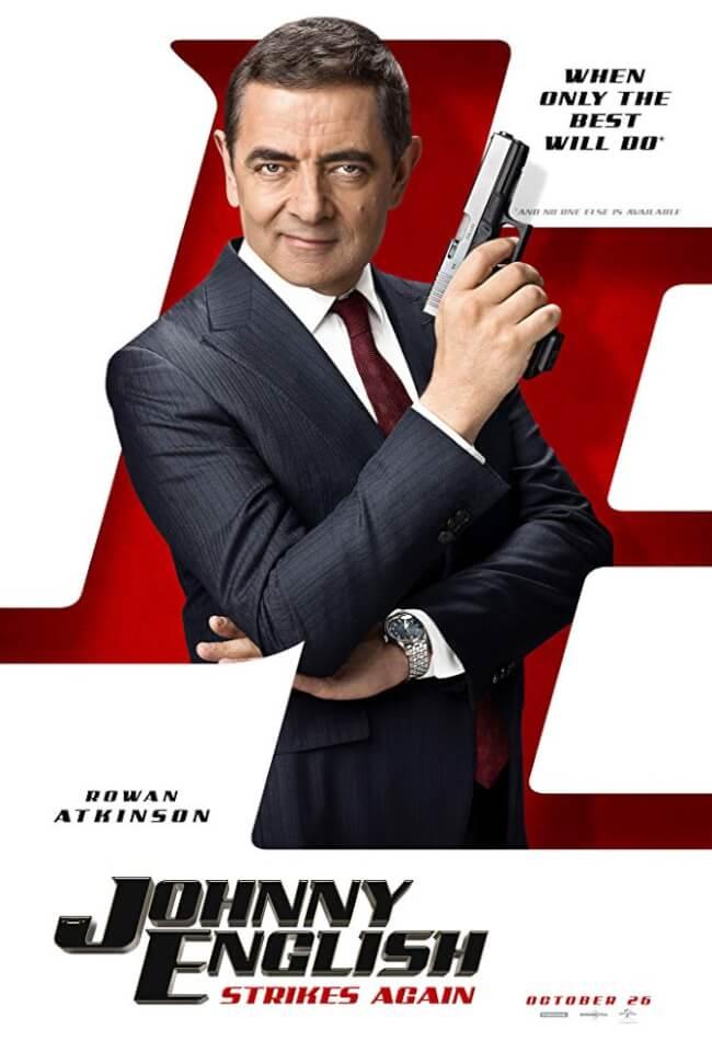 Johnny English Strikes Again Movie Poster