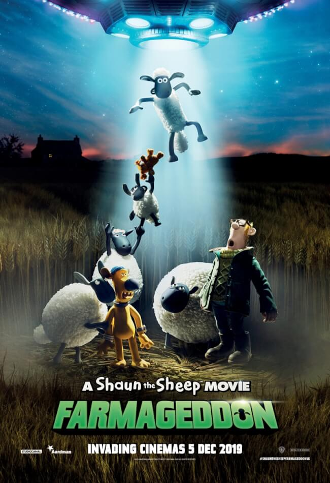 Shaun The Sheep Movie: Farmageddon Movie Poster